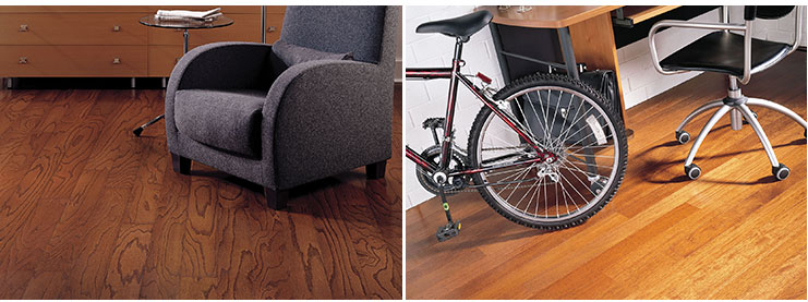 Bruce hardwood floors living room